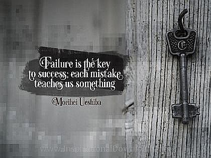 Key To Success by Maribel Ueshiba Inspirational Thought Graphic