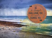 Change You by Fred DeVito Inspirational Thought Graphic