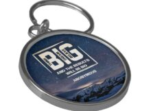 Think Big Dream Big Believe Big Keychain