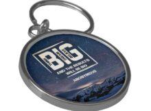 Think Big Dream Big Believe Big Keychain