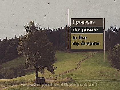 2704-Power Inspirational Wallpaper