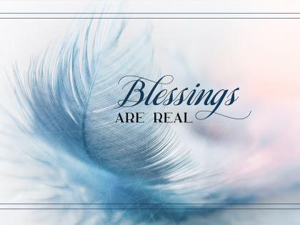 2791-Blessings Inspirational Wallpaper