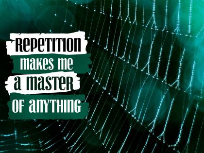 2815-Repetition Inspirational Wallpaper