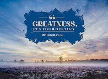 2716 Greatness - Your Destinay by Dr. Tony Evans