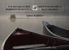 2721 Find Happiness by Agnes Repplier